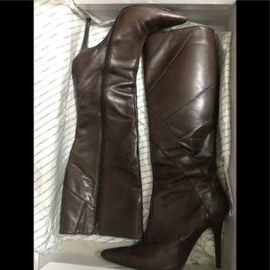 Gorgeous, Chocolate Brown,  knee high Aldo boots.